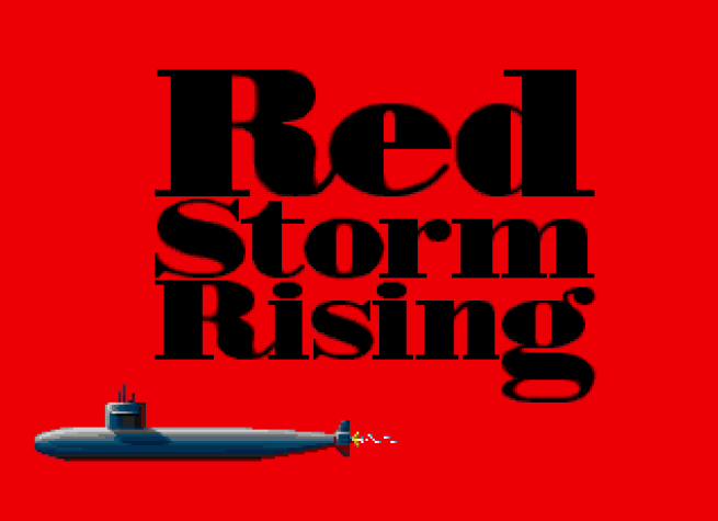 Red Storm Rising Commodore 64