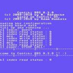 Contiki BBS 0.3.0