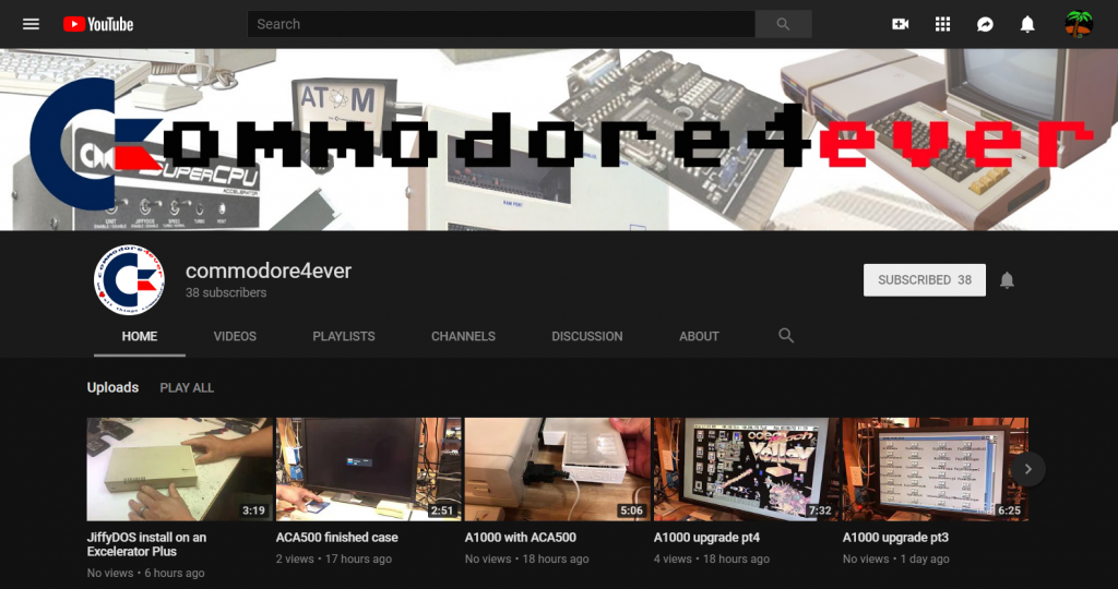 Commodore4Ever YouTube