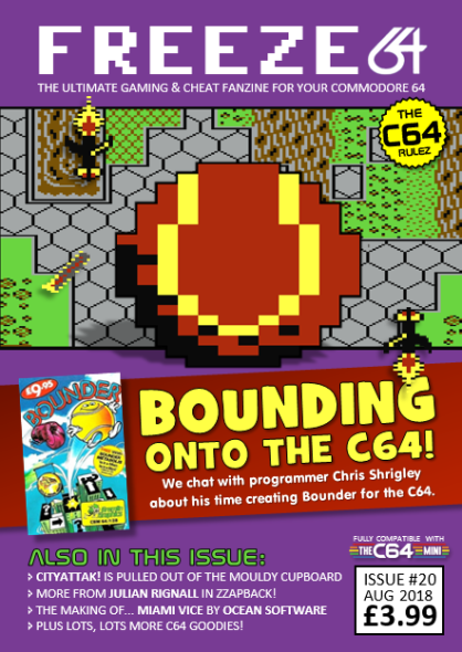 Freeze64 Issue 20 Cover