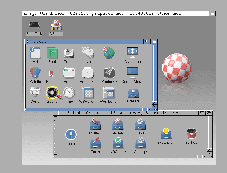 AmigaOS 3.1.4