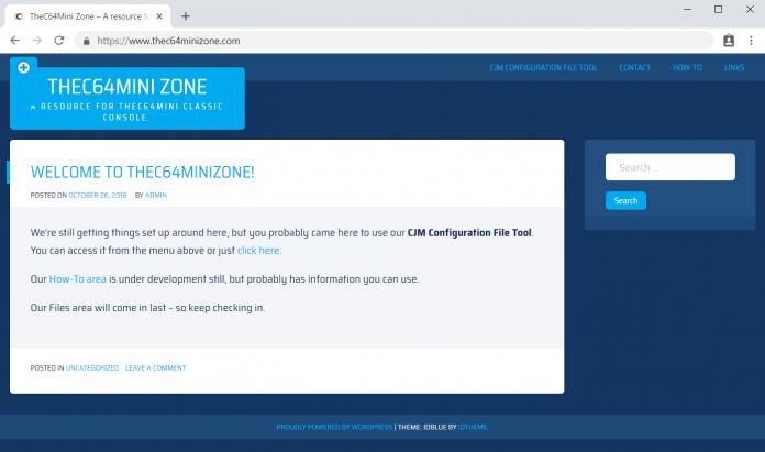 TheC64Mini Zone Homepage