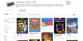 Internet Archive C64 Library