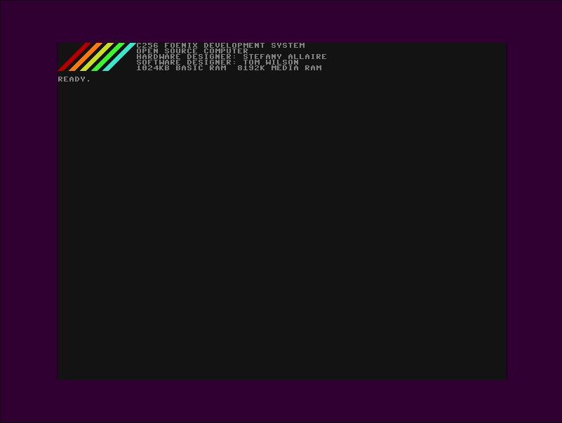 C256 Foenix Desktop