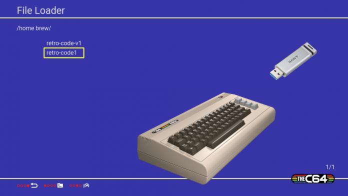 USB Loader TheC64 Mini