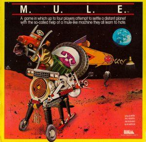 M.U.L.E. C64 Cover