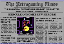 Retrogaming Times #17 - November 2018