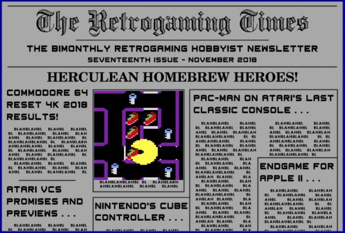 Retrogaming Times #17 - November 2018