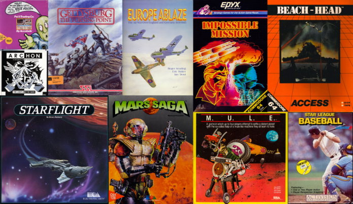 Desert-Fox's All Time Top Ten C64 Games List