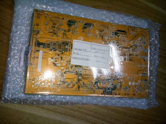 C265 Foenix Project Rev B PCB