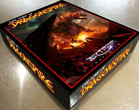 The Lord of Dragonspire Box Art