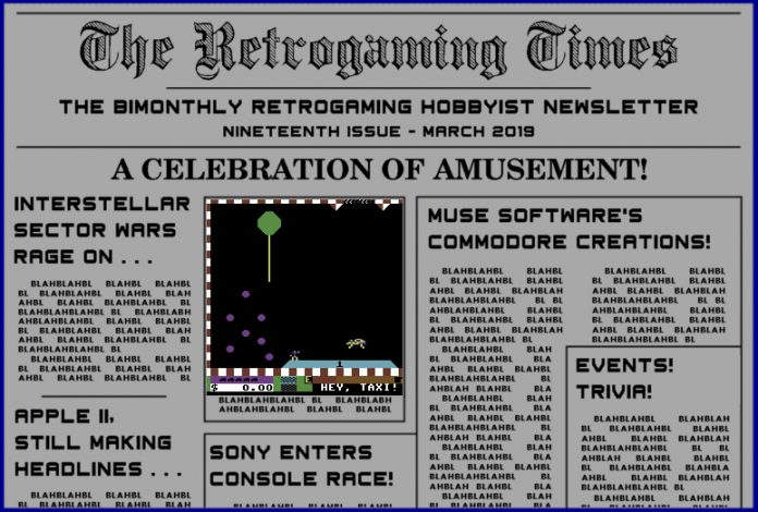 Retrogaming Times #19 March 2019