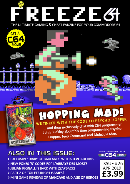 FREEZE64 Fanzine Issue 26 Now Available