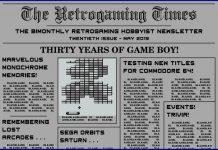 Retrogaming Times #20 May 2019