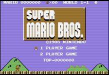 Super Mario Bros. 64 Title Screen