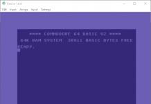 Denise C64 Emulator 1.04