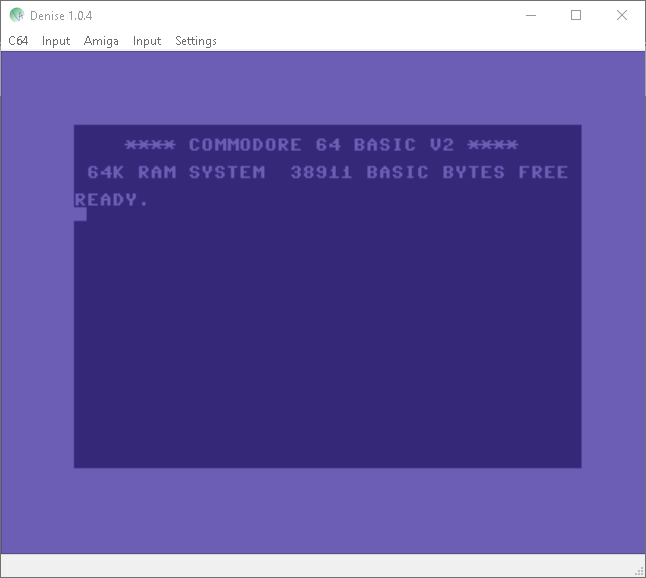 Denise C64 Emulator Updated to v1 04