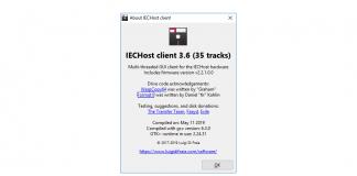 IECHost GUI v3.6