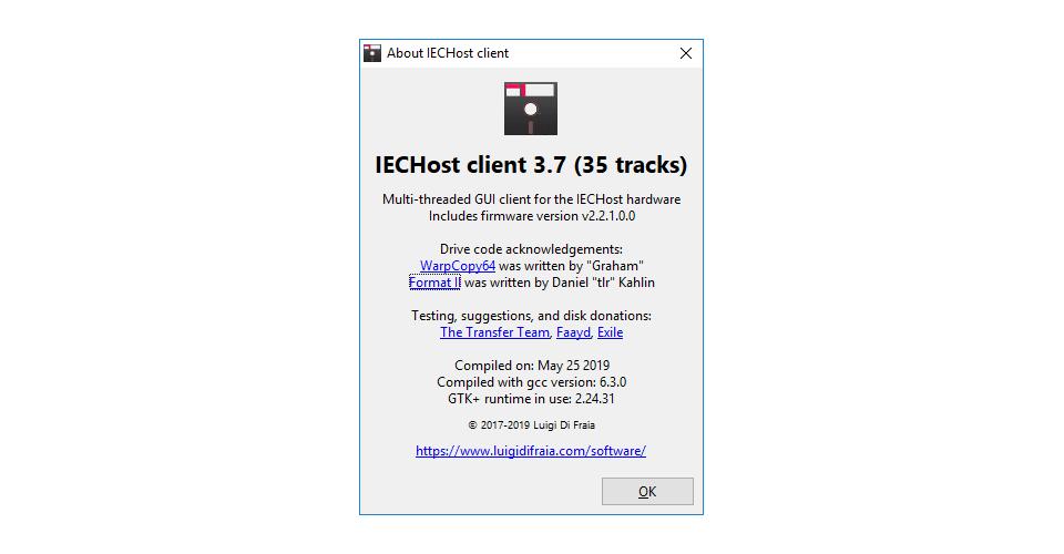 IECHost GUI v3.7