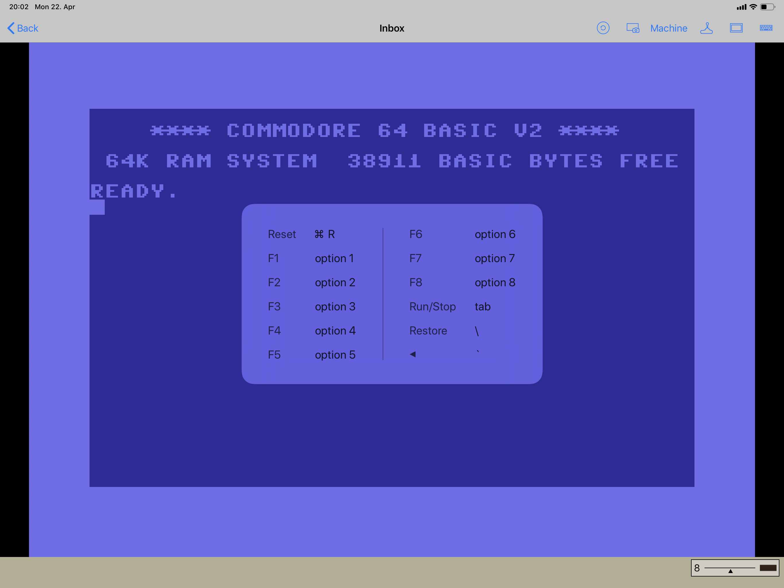 New C64 Emulator for the iPad