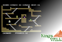 Kings Valley C64 Banner