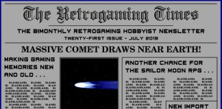 Retrogaming Times #21 July 2019