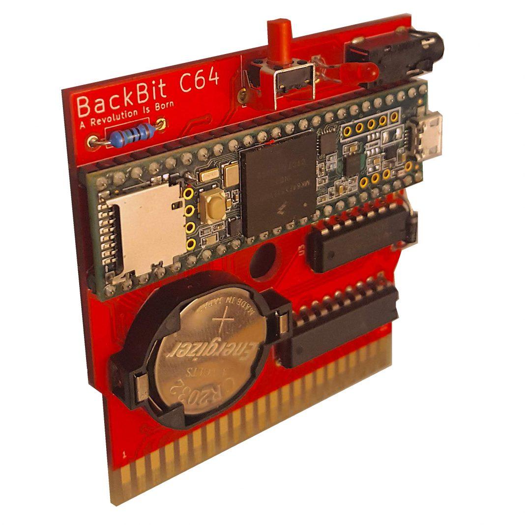 Backbit C64 Bare Cartridge