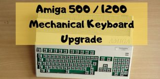 Amiga 500 / 1200 Mechanical Keyboard Upgrade