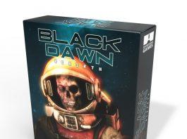 Black Dawn Rebirth Amiga box front