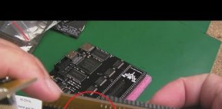 GadgetUK164 Commodore Amiga Vampire & CPU Relocator Pin