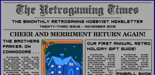 Retrogaming Times #23 Nov/Dec 2019