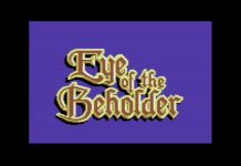 Eye of the Beholder C64 Intro
