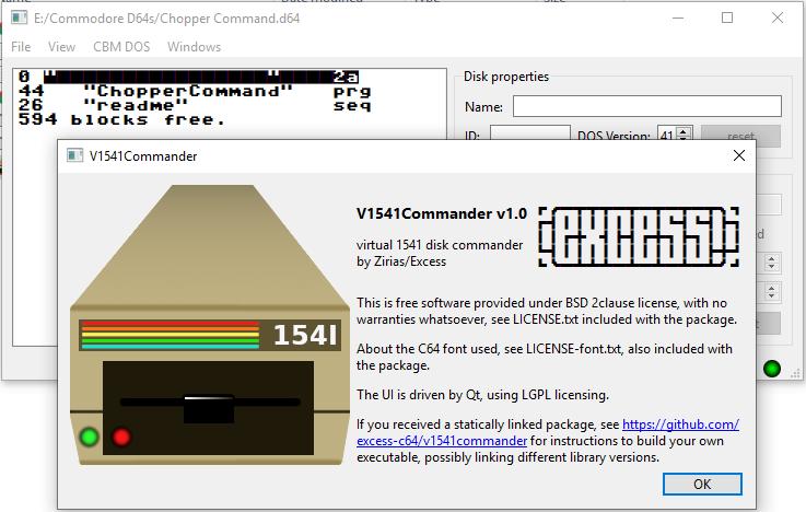 V1541 Commander 1.0