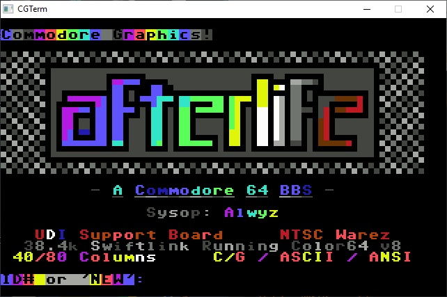 Afterlife BBS