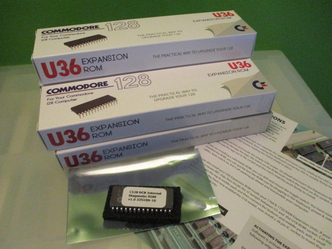 C128 DCR U36 Expansion ROM