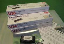 C128 DCR U36 Expansion ROM