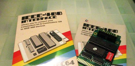 IEC64 IEEE-488 Interface Board