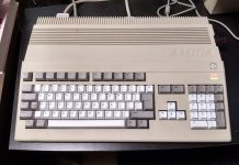 A500/A1200 Kipper2K Replacement Keyboard